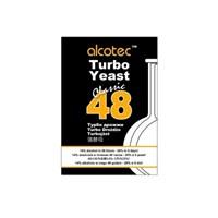 Турбо дрожжи спиртовые Alcotec Classic 48, 130 г