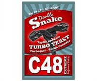 """Турбо дрожжи Double Snake """"C-48"""", 130 г"""